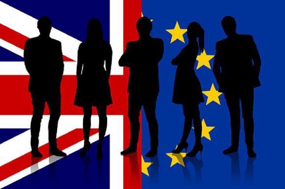 Британцы устроили демарш в Европарламенте