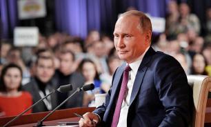 """Путин предложил журналистам больше узнать про бизнес """"дочерей"""""""