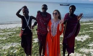 Наташа Королёва уехала от Тарзана в Африку