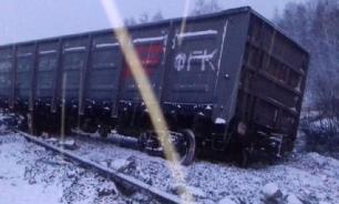 Поезд с углем сошел с рельсов в Иркутской области