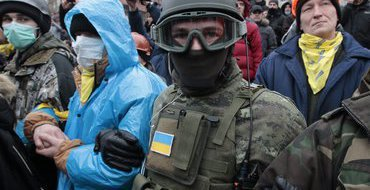 СМИ: В Киеве застрелен активист Евромайдана