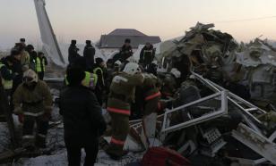 В Казахстане потерпел крушение самолёт