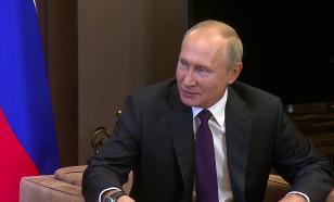 Путин поприветствовал участников теннисного турнира в Санкт-Петербурге