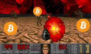 15-летний хакер играет в DOOM на кошельке Макафи