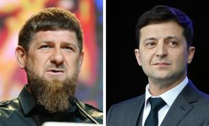 Украинские СМИ рассказали о трусости Зеленского перед Кадыровым