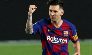 """""""Барселона"""" поздравила """"Ювентус"""" с тем, что они увидели Месси"""