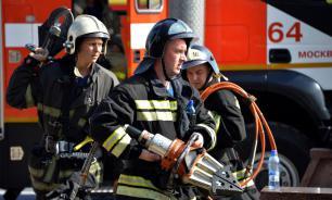 """В Москве погибли два человека из-за пожара в ЖК """"Алые паруса"""""""