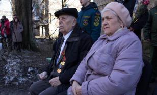 Ветеран войны в Донецке принимал личный парад