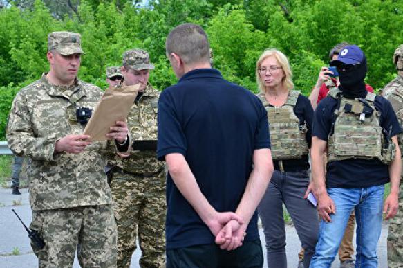 ЛНР передала 54 заключенных Киеву