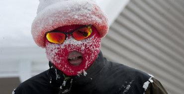 В США зарегистрировано 4406 рекордно низких температур за январь