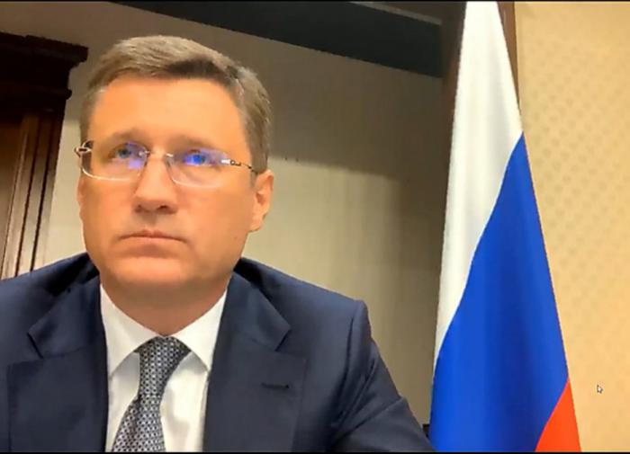 Новак: Россия не планирует сокращать добычу природного газа