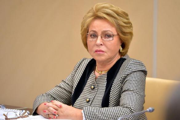 Матвиенко сообщила о работе над ответными санкциями в отношении США