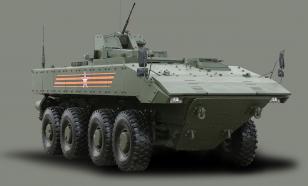 В России работают над созданием первого колёсного танка