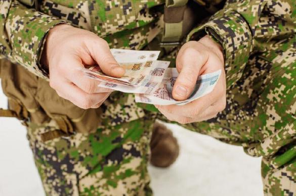 Зарплату будут получать солдаты-срочники