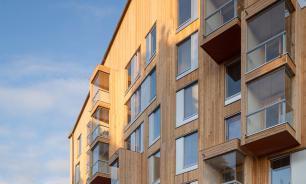 В России будут строить деревянные многоэтажки