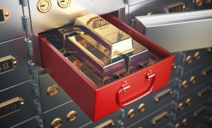Власти итальянского города нашли золото в банковской ячейке
