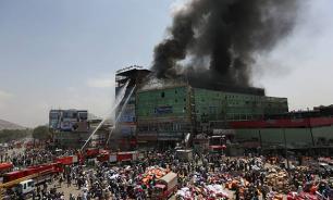 В Кабуле произошел страшный пожар