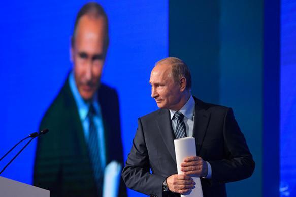 Путин: А никто и не спорит, что у США мощная армия