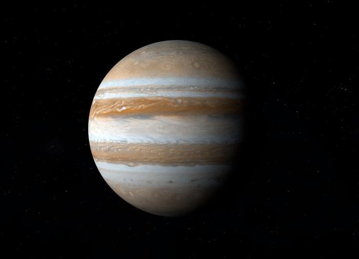 """В атмосфере Юпитера обнаружили """"спрайтов"""" и """"эльфов"""""""