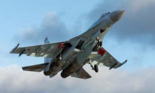 """""""Русские витязи"""" отработали воздушные бои на новейших Су-35С"""