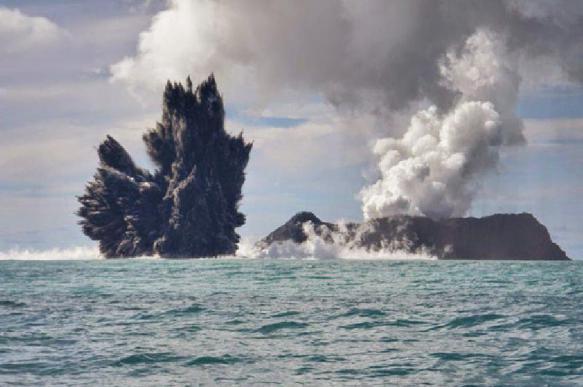 Океанологи обнаружили в Тихом океане молодой вулкан