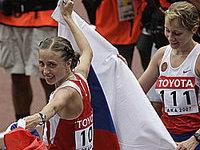Россиянка пешком дошла до мирового золота.