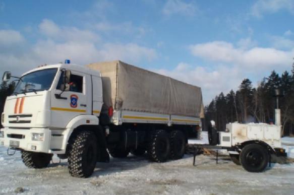 Спасатели МЧС патрулируют трассы в Иркутской области