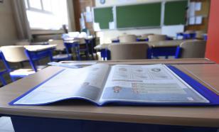 В школе Архангельска на учеников во время урока упал потолок