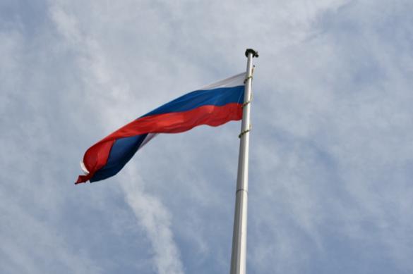 В Ростовской области подняли флаг России