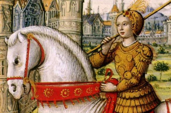 Жанна д'Арк оказалась древним египтянином