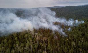 В Сибири начали вызывать искусственные дожди для борьбы с пожарами
