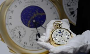 В Подмосковье продадут 30 конфискованных часов ценой до 47 млн рублей