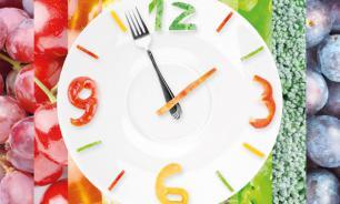 Время и тарелка: питание бегуна