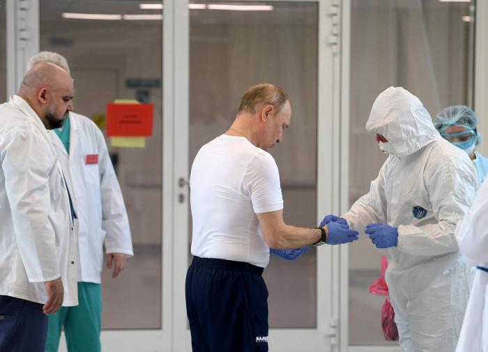 Путин готов сделать прививку от коронавируса