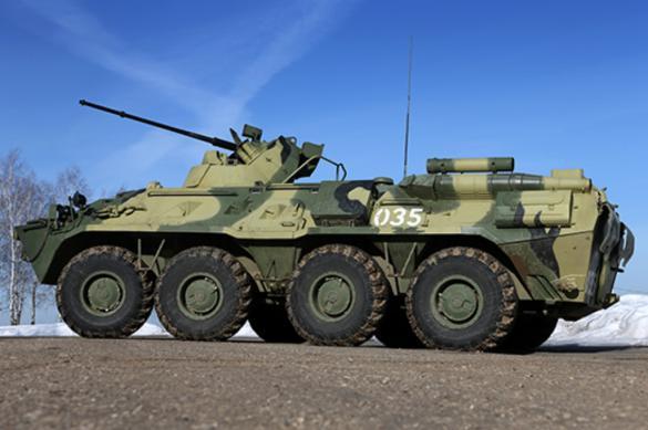 До конца года в войска РФ поступит более 460 новейших БТРов