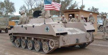 Пентагон сдурел: школам подарены 14-тонные БТРы, гранатометы и бронеавтомобиль за 3000
