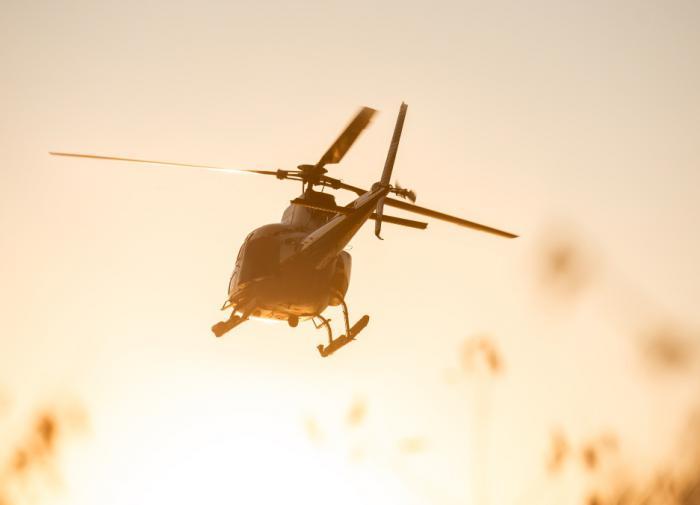 Вертолёт Газпрома экстренно сел на Сахалине