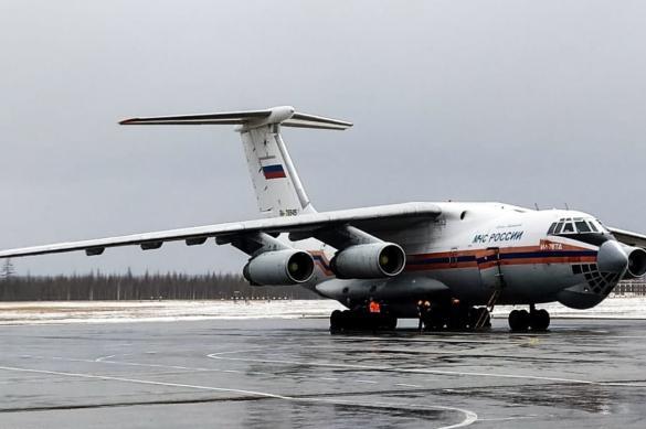 Для борьбы с коронавирусом в Якутию прибыл борт МЧС