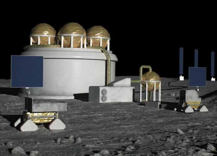 Япония построит на Луне завод по производству водородного топлива