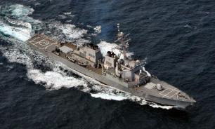 Американский ракетный эсминец пришвартовался в Одессе