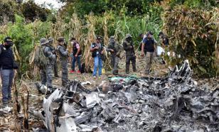 В Гватемале разбился угнанный из мексиканского аэропорта самолет