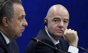 Президент ФИФА поблагодарил Россию за страсть и выдающуюся работу
