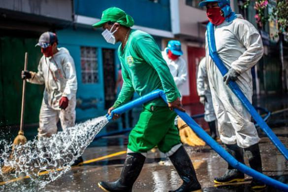 В Перу принудительно закрывают рынки
