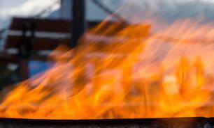 В Одессе пьяные хулиганы пожарили шашлыки на Вечном огне