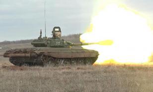 Танковый бой под Оренбургом: опубликованы кадры масштабных учений