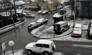 В Салехарде в первый день лета выпал снег