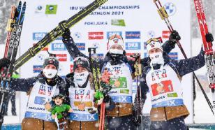 Россия стала седьмой в медальном зачёте ЧМ по биатлону