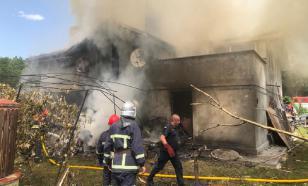 Четыре человека погибли из-за падения на дом спортивного самолёта на Украине