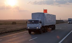 Новая колонна с гуманитарной помощью отправлена в Донбасс