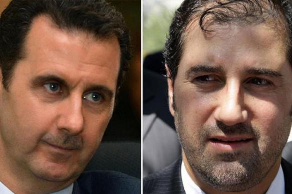 Асад поместил двоюродного брата под домашний арест